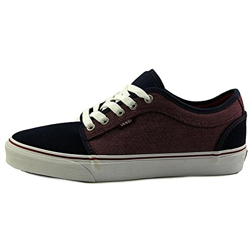 Vans Chukka Low Sneakers (Oxford) Navy/Port/Bleu Taille 8.0