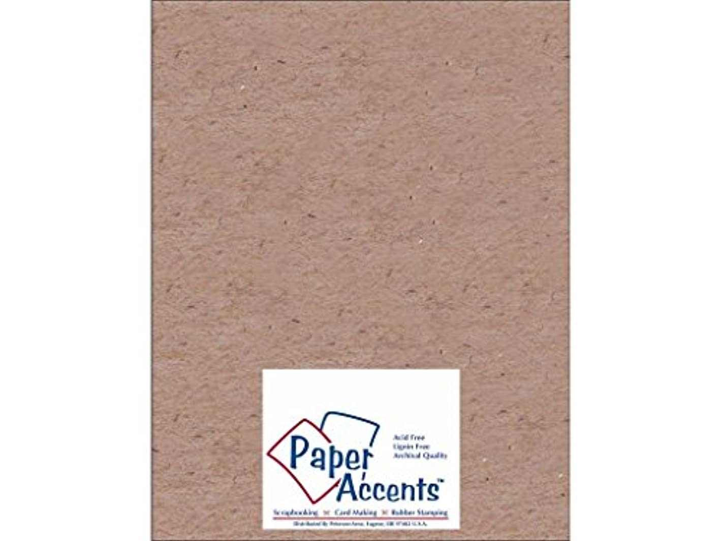 Accent Design Paper Accents 1XHeavy 52Nat Chipboard 8.5x11 1X Heavy 52pt Natural