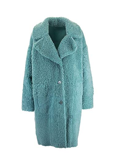 Luxury Fashion | Drome Dames DPD5646D17265141 Blauw Wol Mantels | Herfst-winter 19