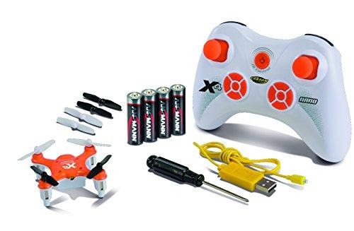 Carson 500507081 – X4 Quadcopter Nano 100% RTF, Orange
