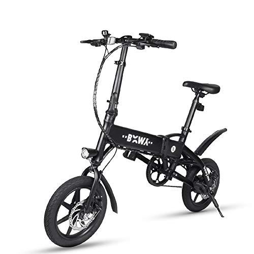 Chen0-super bicicletta elettrica pieghevole leggero Aviation City Bike in alluminio singola velocità fino a 25km motore 240W max chilometraggio 20–25km per adolescenti e adulti
