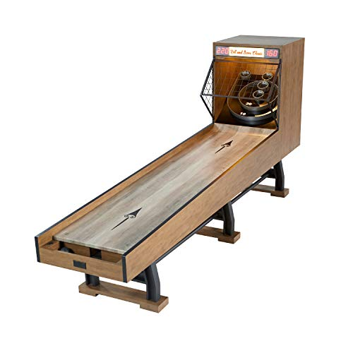 Barrington Billiards Roll and Score Game Set, 120 Inch - Vintage Games for Arcades, Fairs, Carnivals, Rec Rooms, Playrooms, Bars - Speedball Bowling Machine with LED Lights and Electronic Scorer