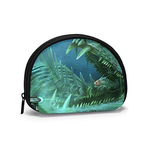 Subnautica Coin Purse Shell Aufbewahrungstasche Mode Frauen Handtasche Multifunktions Tragbare Kosmetiktaschen Brieftasche