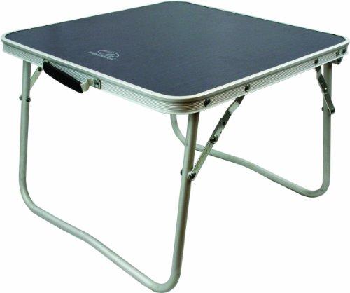Highlander Folding S Table Kleiner Campingtisch, Silber, S
