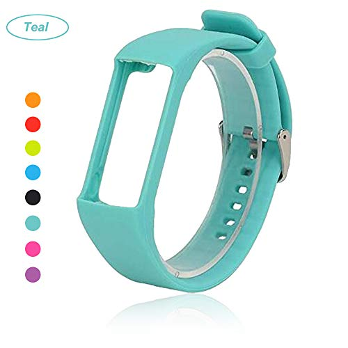 Bemodst® Armband für Polar A360 Fitness-Tracker, Ersatzzubehör Uhrenarmband, weiches Silikon Schreibband Armband für Polar A 360 Smartwatch, blaugrün