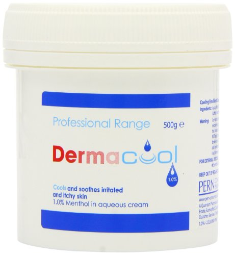 Creams to stop itching - Dermacool One Percent Menthol in Aqueous Cream