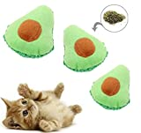 Playnip Katzenspielzeug mit Katzenminze Avocado