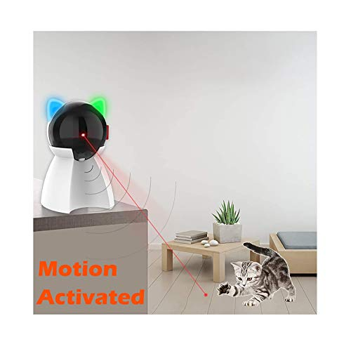 Our #4 Pick is the PetDroid Boltz Motion Activated Laser Pointer Cat Toy