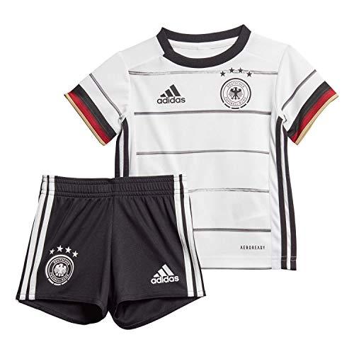 adidas Kinder DFB H BABYKIT Football Set, Black, 1218M