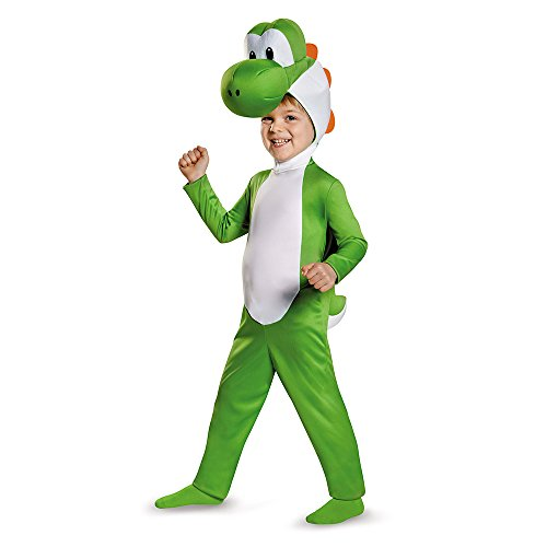 Disguise Yoshi Toddler Costume, Medium (3T-4T)