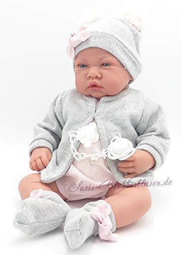 Muñeca Recien Nacida Gris