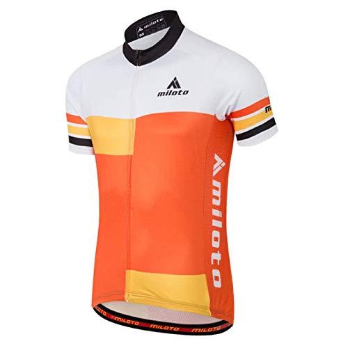Maillot de ciclismo Jersey Tops verano Racing Ciclismo ropa manga corta bicicleta Jersey camisa (color: 9, tamaño: XXL)