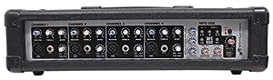 Rockville RPM45 2400w Powered 4 Channel Mixer/Amplifier w USB/EQ/Effects/Phantom by Audiosavings