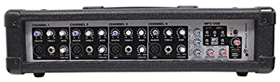 Rockville RPM45 2400w Powered 4 Channel Mixer/Amplifier w USB/EQ/Effects/Phantom by Audiosavings