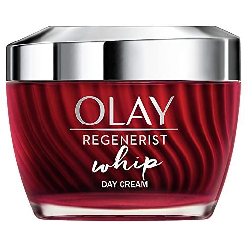 OLAY Regenerist Whip Tagescreme | 50ml | Feuchtigkeitscreme Mit Vitamin B3 und Peptiden Für...