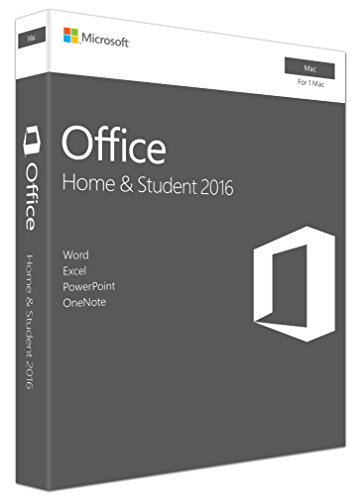 Microsoft Office Home & Student 2016 1 licenza/e Inglese