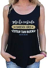 latostadora - Camiseta Cuarenta Anos para Mujer