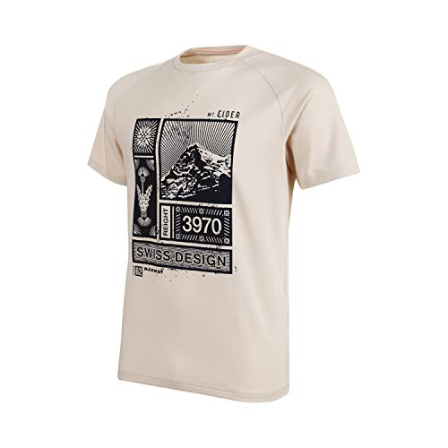 Mammut Herren T-shirt Mountain, grau, XL