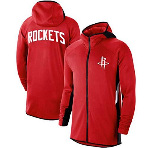 YDYL-LI Houston Rockets All-Star - Camiseta de baloncesto con capucha para hombre, talla XL
