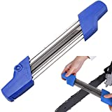 HVUE 2 in 1 Easy File Mini Chainsaw Chain Sharpener Kit for .325 3/8 3/8P Saw Chain