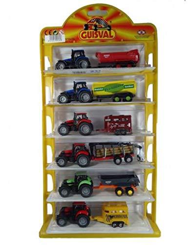 Guisval Tractores con Remolque (6 Unidades)