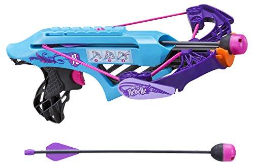 Rebelle - Lightning Bolt Crossbow, Juego de Aire Libre (Hasbro B1694)