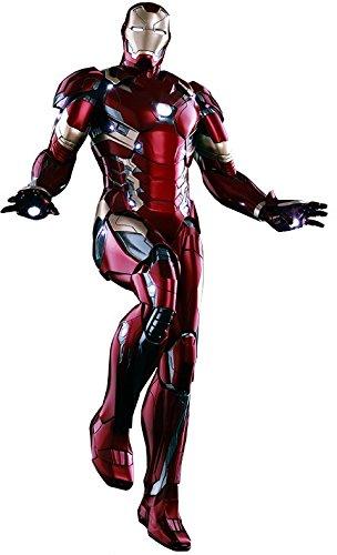 "Hot Toys ""Iron Man Mk XLVI Power Pose""-Figur, HT902622, im Maßstab 1:6"