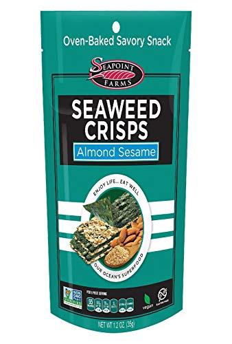 Sea Point Farms Crisp Seaweed almond Sesame, 1.2 oz