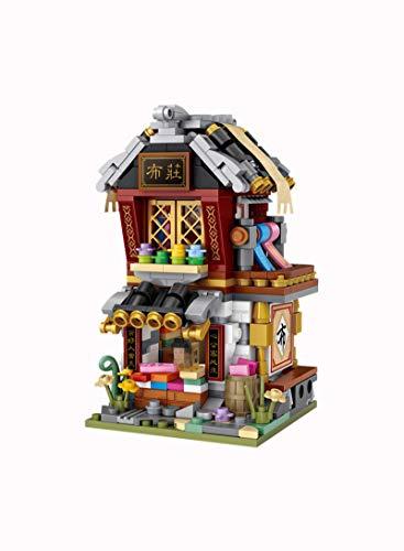 XIYUN MINI Antigua Calle Vista Bloques/loques Cultura China Tradición Arquitectura Modelo Bloque de Construcción educativo diy tienda juguetes 1734nobox