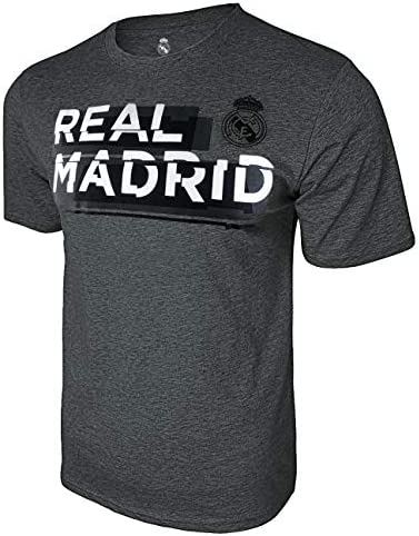 Icon Sports Real Madrid Shattered Graphic T Shirt Medium Deep Heather product image