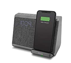 Charge all Qi charge enabled mobile devices wirelessly using the charging pad: Wireless charging for iPhone X, iPhone 8 Plus and iPhone 8 Wireless fast charging for Samsung Galaxy S8 | S8+ | Note8 Wirelessly stream audio from Bluetooth-enabled device...