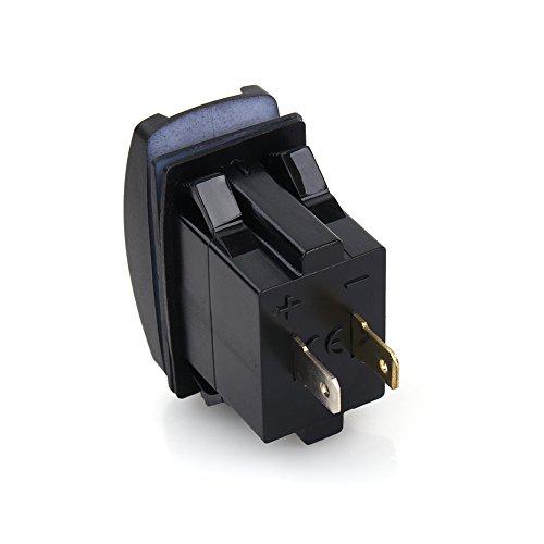 Cargador de coche con LED dual USB, protección del cargador de coche, seguro de usar Alta confiabilidad Controlador fácil de usar para el mantenimiento del automóvil Automóvil deportivo