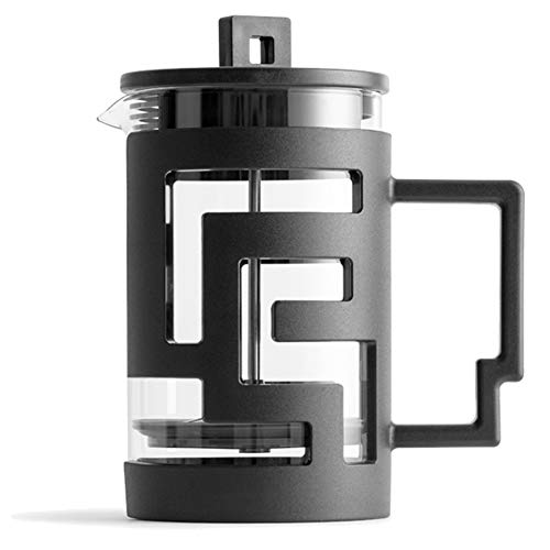 Check Out This Espresso Coffee Makers Maze Pattern Press Pot Multifunctional Coffee Pot French Press...