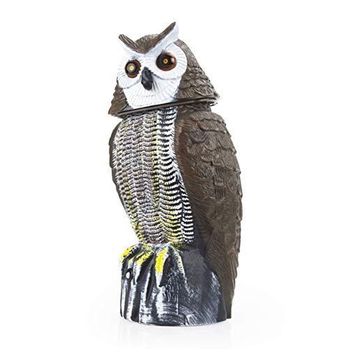 Motion Activated Owl Animal Repellent