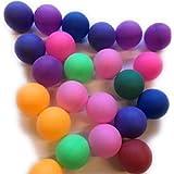 its ピンポン玉 8色ミックス娯楽用 卓球ボール大量 卓球ゲーム レジャー イベント (50個)