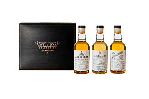 Das Single Malt Whisky Collection Discovery Probierset by John Dewar & Sons, 3 x 200ml