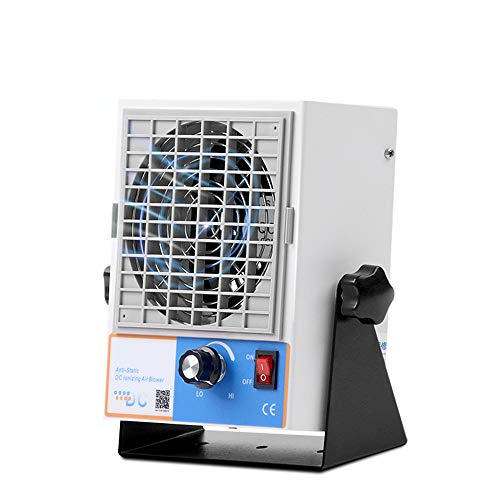 Hanchen Ionizing Air Blower New DC Type ESD Ionizer Anti Static Ionizer Static Fan Electrostatic Elimination Discharge Static Ionizer