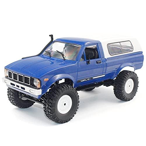 YUMOYA Coche de control remoto Hobby Toy Car 2.4 GHz RC Drift Race Car todo terreno Off-Road Rock Crawler escalada Buggy 4WD Motores regalo eléctrico para niños niños y adultos