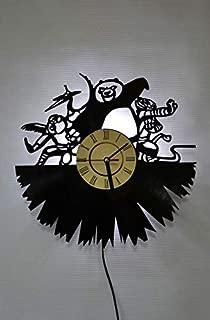 Kung Fu Panda Movie Art Night Light Wall Lights Wall Clock Home Decor Art Room Iterior Gift for Any Event