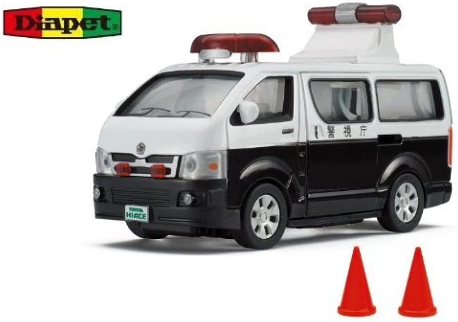 Diamond pet DK3107 1 36 scale police car (japan import) by Agatsuma