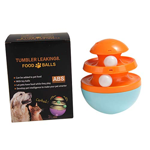 YUNYING Pet Toy Tumbler Leaky Food Ball Leaky Food Puzzle...
