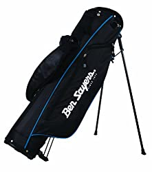 Four way divider top capable of carrying a full set of clubs Three spacious pockets including a soft lined valuables pocket and a large clothing pocket Padded lumbar support for extra comfort with a fully adjustable dual shoulder strap system Built i...