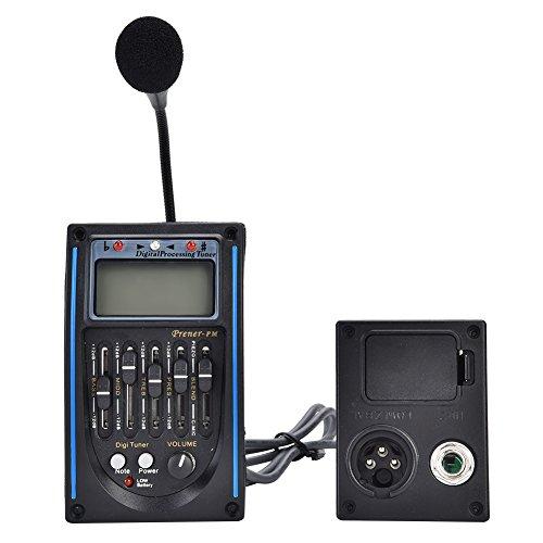5 Band Tonabnehmer, EQ Equalizer Piezo Digital Tuner Tonabnehmer für Akustikgitarre