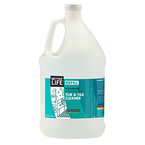 Better Life Tub & Tile Cleaner,128 Fl Oz (Pack of 1)