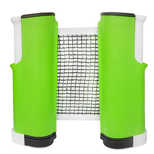 New Braveheat Retractable Table Tennis Net, Portable Ping Pong Net Rack Fits All People, Indoor Outd...