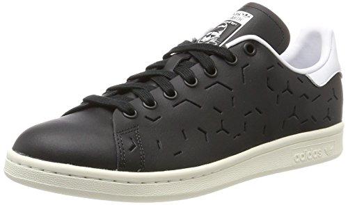 adidas Stan Smith, Scarpe Sportive Donna, Nero (Core Black/Core Black/Footwear White), 38 2/3 EU