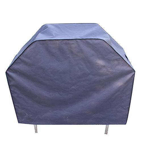 FCZBHT Couverture de Meubles De Plein Air Jardin Couverture De Barbecue, Imperméable Protection Solaire, Disponible Toute L'année Garde poussière (Couleur : Noir, Taille : 182 * 66 * 130cm)