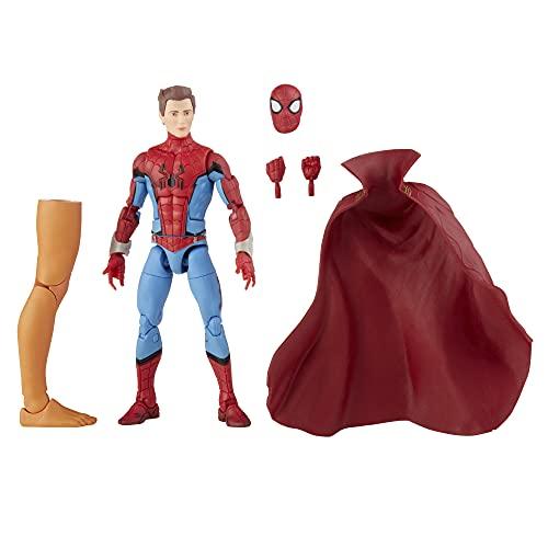 Hasbro Marvel Legends Series - Spider-Man Cacciatore di Zombi, Action Figure in Scala da 15 cm, Include 3 Accessori e Un Elemento Build-a-Figure