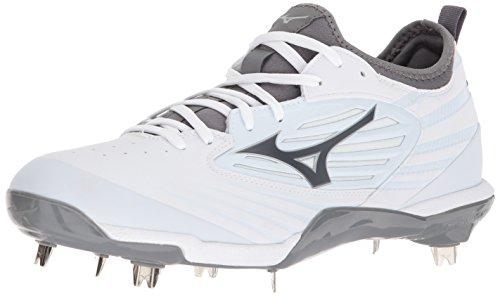Mizuno (MIZD9 Herren Epiq Baseball Metal Cleat Schuh, Wei (weiß/weiß), 49 EU
