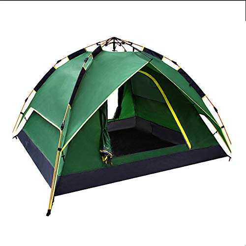 DPFXNN Pop Up Camping Tent, 3-4 Person Tent Waterproof Windproof Instant Automatic, for Perfect Outdoor Traveling Fishing